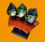 全省素食-脆藻手卷